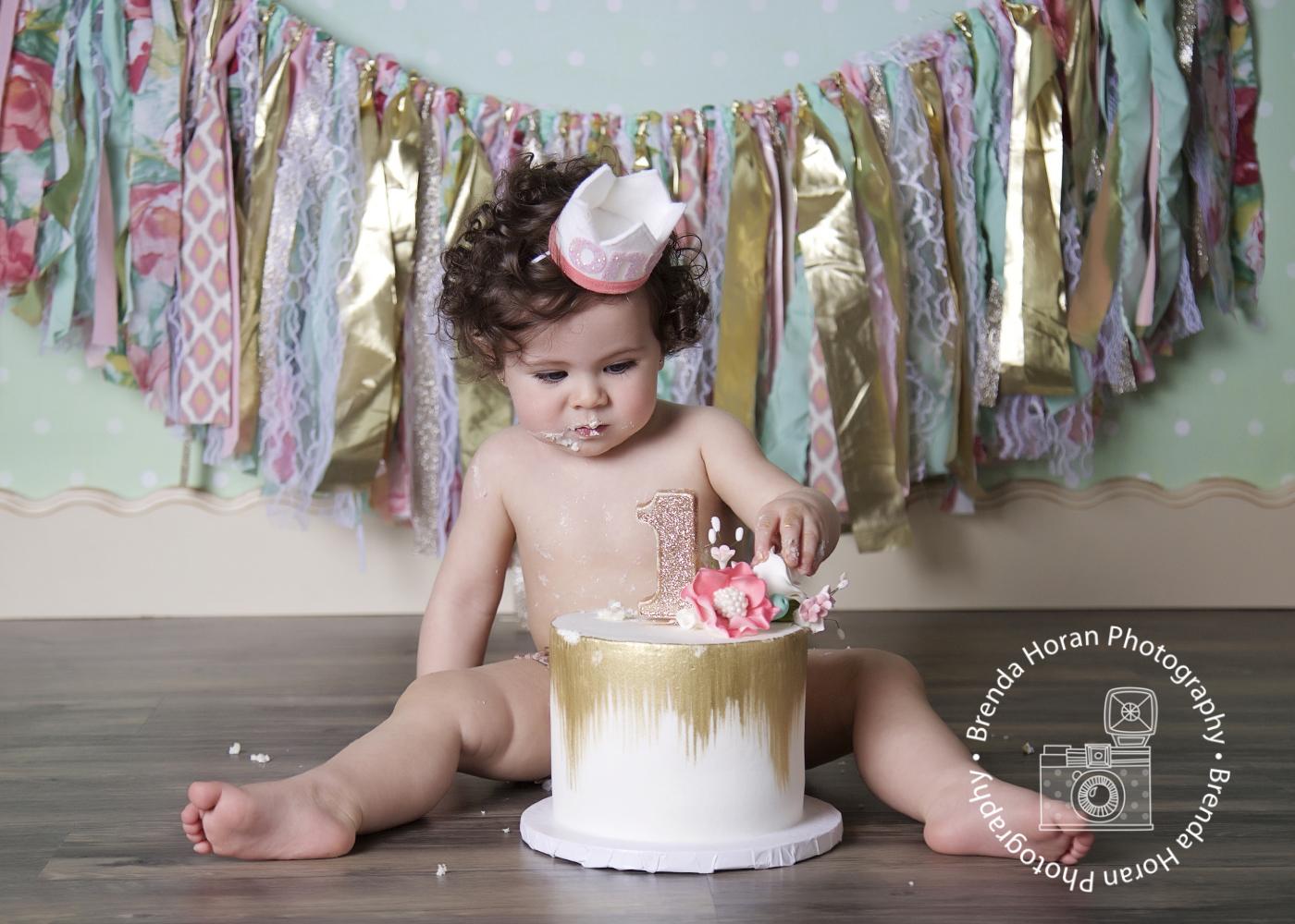 Tulsa Smash Cake Photography